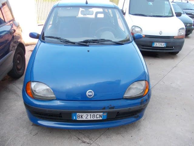 2000 Fiat Seicento 1.1i cat Hobby