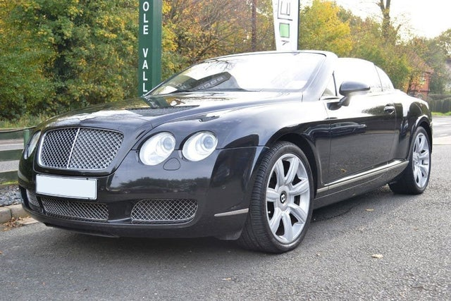 2007 Bentley Continental 6.0 GTC (5F reg)