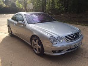 Used Mercedes Benz Cl Coupe Cl55 Amg Kompressor For Sale London
