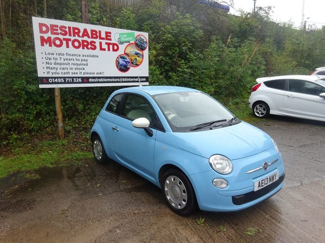 2013 Fiat 500 0.9 Colour Therapy (13 reg)
