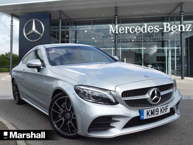 2019 Mercedes-Benz C-Class 2.0d C300d AMG Line (244ps) (Premium)(s/s) Coupe 2d (19 reg)