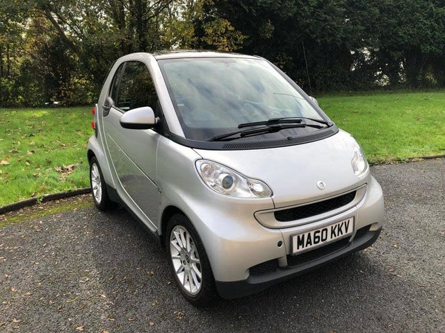 2010 Smart fortwo 0.8TD Passion Coupe (60 reg)