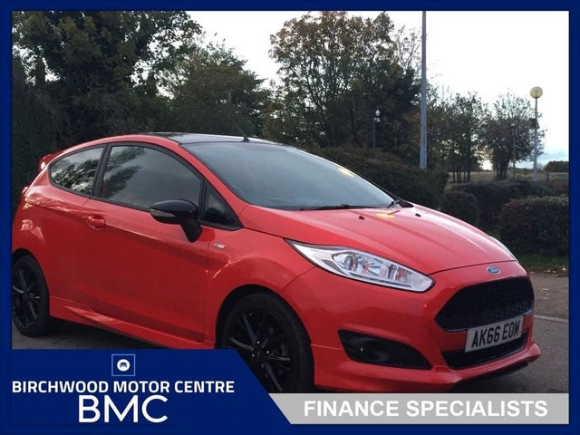 2016 Ford Fiesta 1.0T ST-Line Red Edition (66 reg)