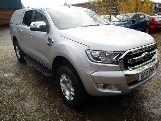 2017 Ford Ranger 2.2TD Limited (160PS) 2 Pickup auto (18 reg)