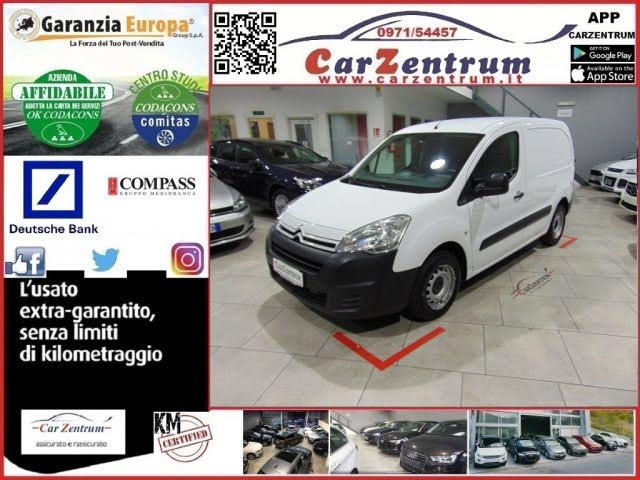 2016 Citroen Berlingo 90 Van 3 posti Club L2