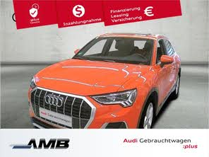 Audi Q3 Advanced 35 Tdi Qu Led Vc S Line Interieur