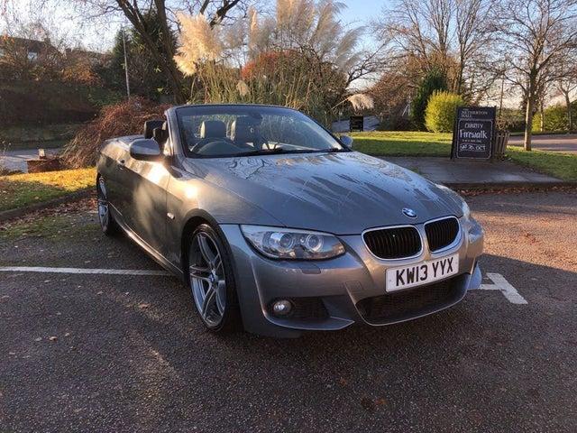 2013 BMW 3 Series 2.0TD 320d M Sport Convertible 2d auto (13 reg)