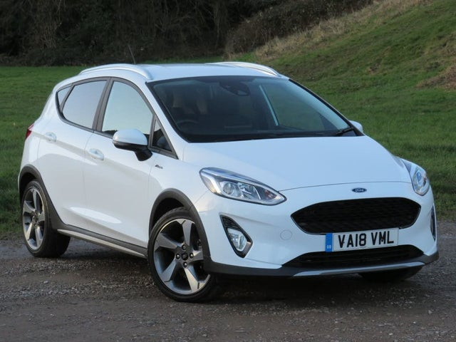 2018 Ford Fiesta 1.0T Active 1 (125ps) (18 reg)