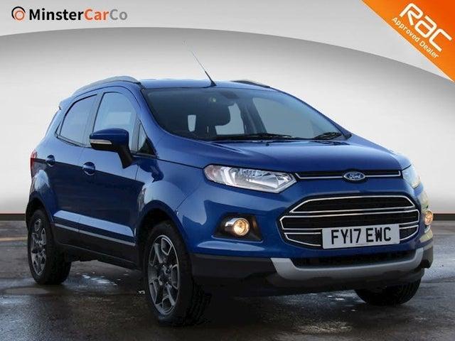 2017 Ford EcoSport 1.0T Titanium (17 reg)
