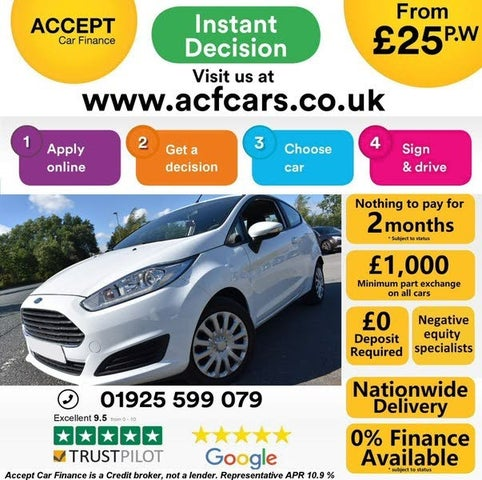 2015 Ford Fiesta 1.25 Style (60ps) 3d (65 reg)