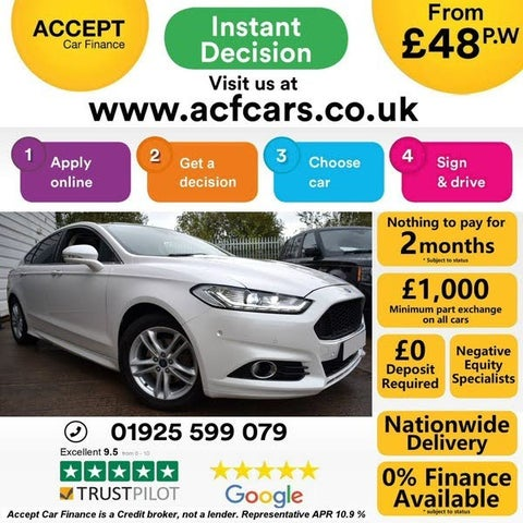 2015 Ford Mondeo 2.0TDCi Titanium (180ps) (s/s) Hatchback Powershift (65 reg)