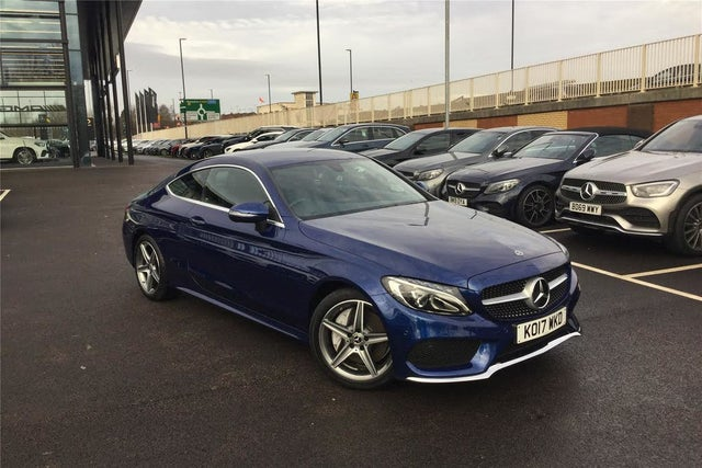 2017 Mercedes-Benz C-Class 2.1d C250d AMG Line (204ps) (s/s) Coupe 2d 9G-Tronic Plus (17 reg)