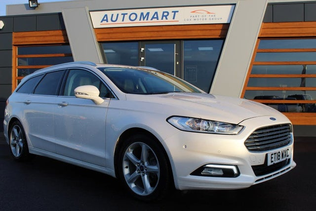 2018 Ford Mondeo 1.5T Titanium Edition (165ps) Estate Auto (18 reg)