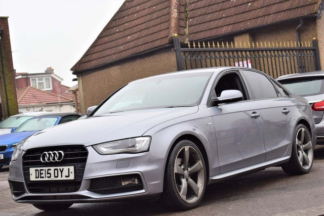 2015 Audi A4 2.0TD Black Edition (177ps) Multitronic (15 reg)