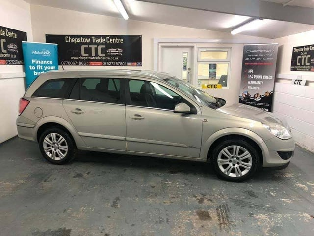 2007 Vauxhall Astra 1.8 Design (140ps) Estate 5d auto (57 reg)