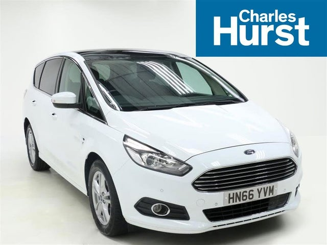 2016 Ford S-MAX 2.0TDCi Titanium (150ps) Powershift (66 reg)