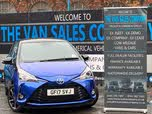 2017 Toyota Yaris 1.5 VVT-i Yellow Bi-Tone Limited Edition Hybrid (17 reg)