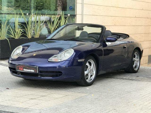 2001 Porsche 911 Carrera Cabrio