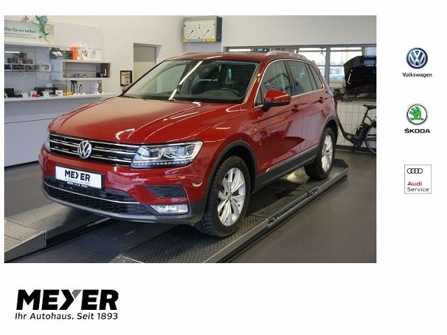 VW Tiguan Highline 4Motion 1.4 TSI DSG *AHK, Standh