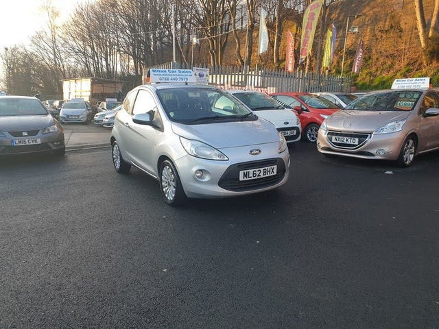 2012 Ford Ka 1.2 Zetec (69ps) (s/s) (62 reg)
