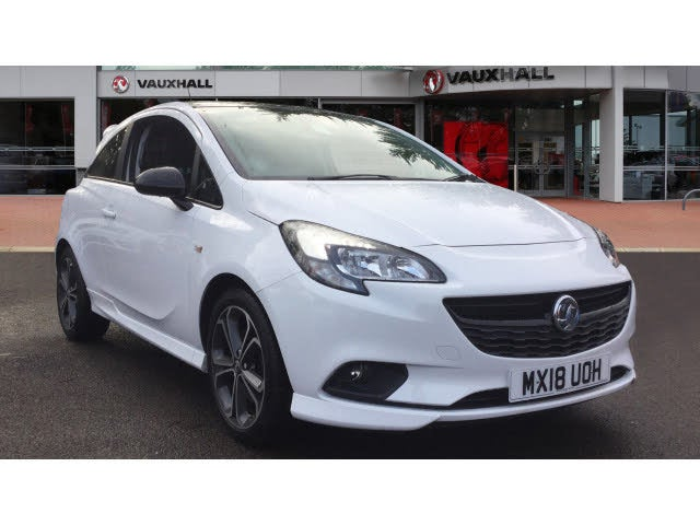 2018 Vauxhall Corsa 1.4i 16v Turbo White Edition 3d (18 reg)