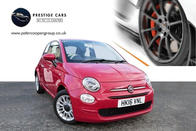 2016 Fiat 500 0.9 POP STAR (85bhp) (16 reg)