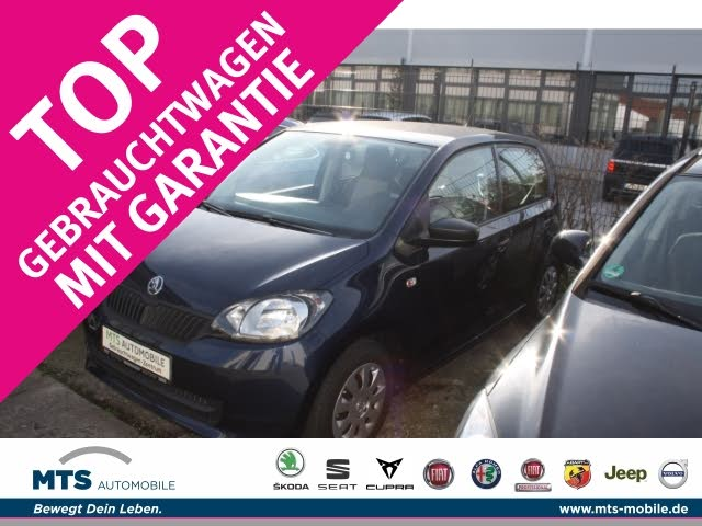 Skoda Citigo Active 1.0 CD MP3 ESP Sperrdiff. Seitenairb. met. Gar. Radio TRC ASR Airb ABS