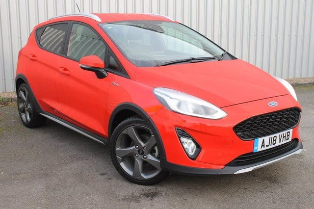 2018 Ford Fiesta 1.0T Active 1 (100ps) (18 reg)