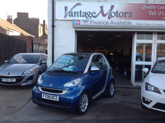 2008 Smart fortwo 1.0 Passion (71bhp) Coupe (08 reg)