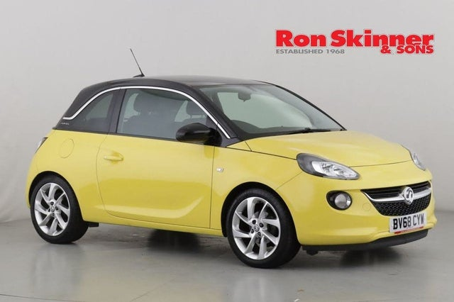 2018 Vauxhall ADAM 1.4i SLAM (100ps) (68 reg)