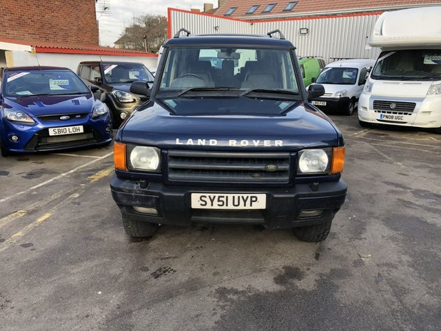 2002 Land Rover Discovery 2.5TD Td5 GS (7 seat) (7 st) auto (51 reg)