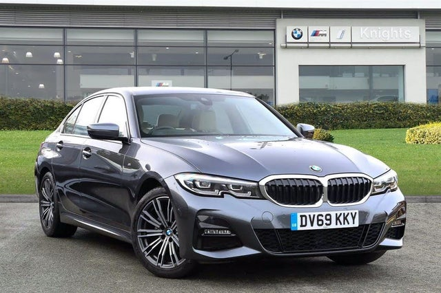 2019 BMW 3 Series 2.0TD 320d M Sport (188bhp) (Plus Pack) Saloon 4d (69 reg)