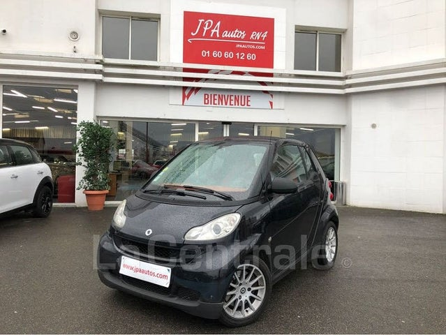 smart fortwo cabriolet 71ch mhd passion softouch