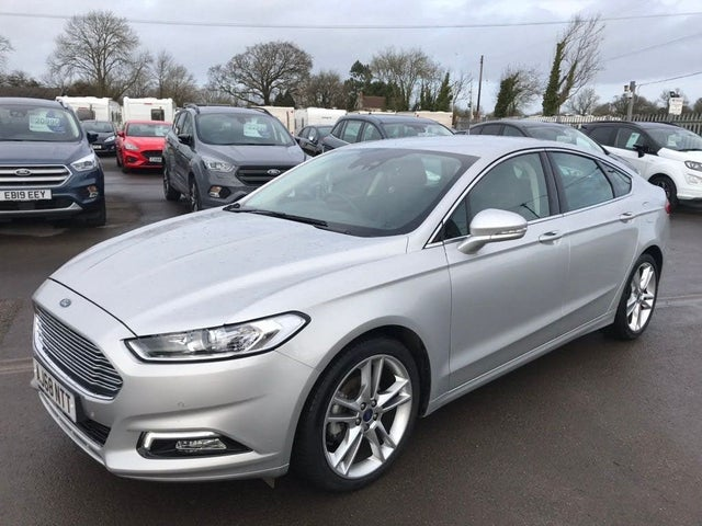 2018 Ford Mondeo 2.0TDCi Titanium Edition (150ps) Titanium Hatchback Powershift (68 reg)