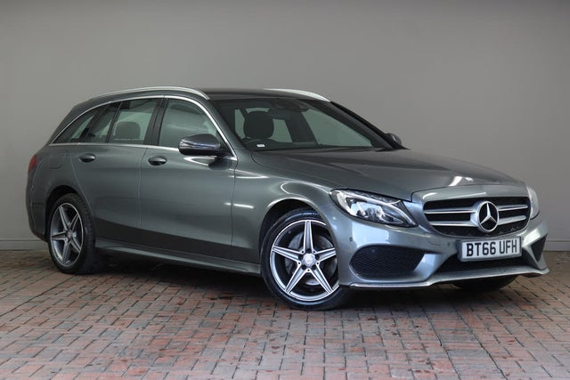 2016 Mercedes-Benz C-Class 2.1d C220d AMG Line (170ps) (s/s) Estate 5d 4MATIC 9G-Tronic Plus (66 reg)