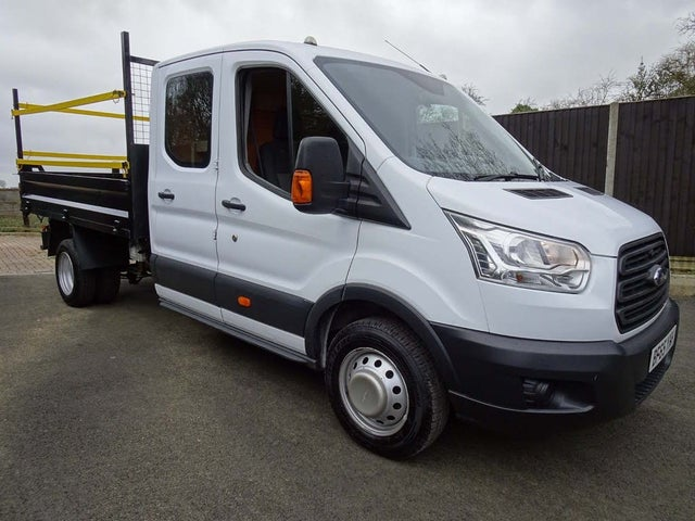 2015 Ford Transit 2.2TDCi 350 L3H1 (125PS) RWD Double Cab Chassis (65 reg)