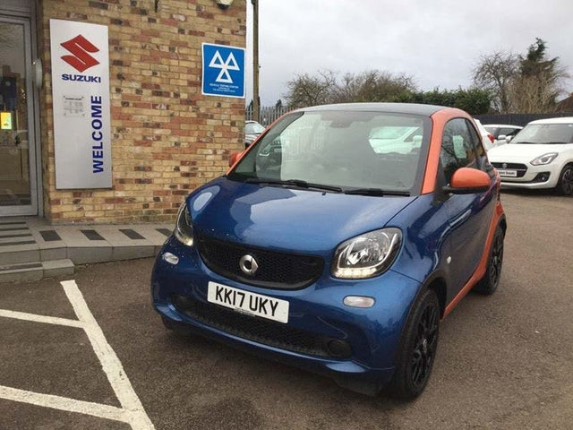 2017 Smart fortwo 0.9 Prime Sport (90bhp) (s/s) Coupe (17 reg)