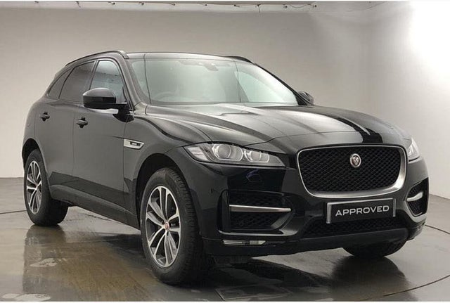 2019 Jaguar F-PACE 2.0i R-Sport (300ps) (s/s) (19 reg)