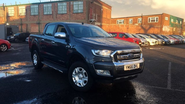 2016 Ford Ranger 2.2TD Double Cab Limited (66 reg)