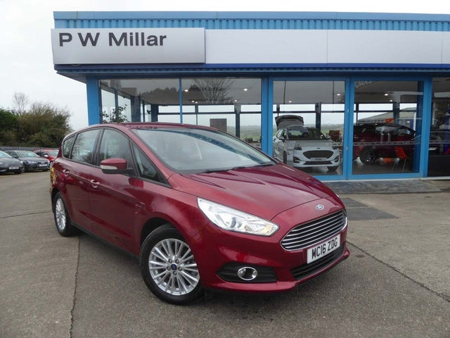 2016 Ford S-MAX 2.0TDCi Zetec (150ps) (s/s) Powershift (16 reg)