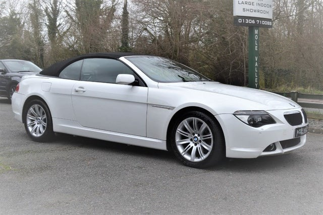 2006 BMW 6 Series 3.0 630i Convertible auto (8L reg)