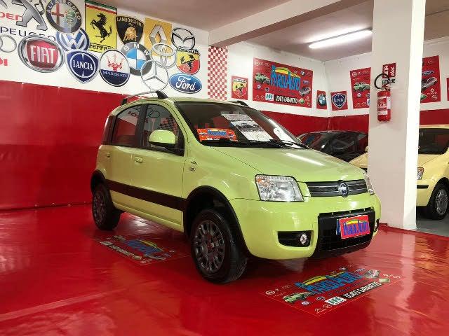 2005 Fiat Panda 4x4 Climbing