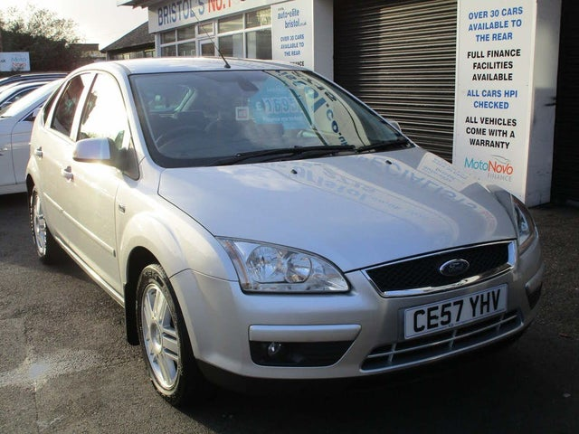 2007 Ford Focus 1.8 Ghia Hatchback 5d (57 reg)