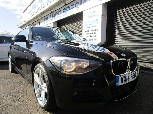 2014 BMW 1 Series 2.0TD 120d M Sport (184bhp) (s/s) Sports Hatch 3d (14 reg)