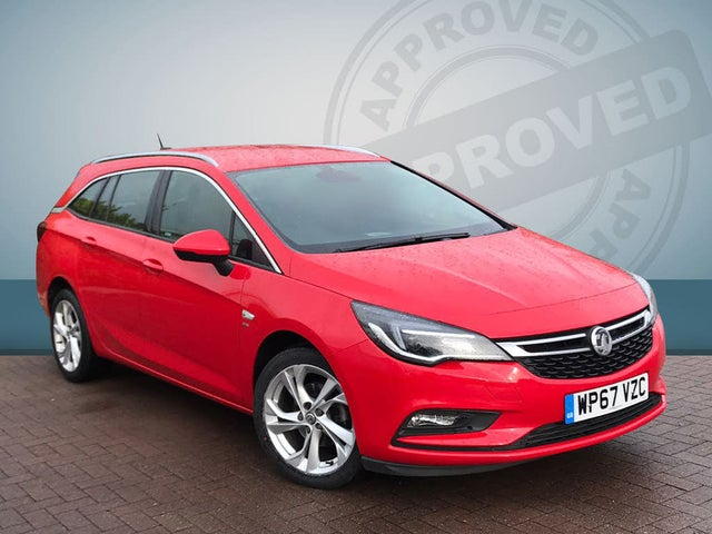 2017 Vauxhall Astra 1.4i 16v Turbo SRi (150ps) Sport Tourer (67 reg)
