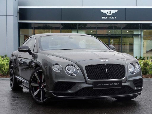 2017 Bentley Continental 4.0 GT V8 S Coupe (18 reg)