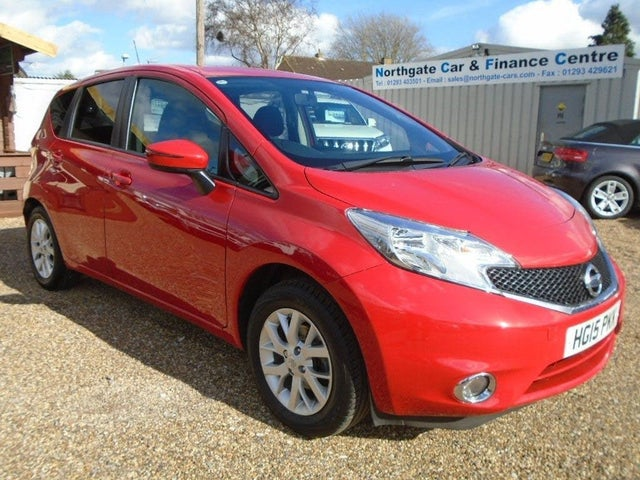 2015 Nissan Note 1.2 Acenta (80ps) (Style Pack) (15 reg)