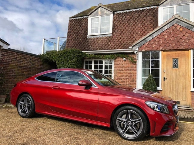 2019 Mercedes-Benz C-Class 2.0d C300d AMG Line (244ps) (Premium) Coupe 2d (19 reg)