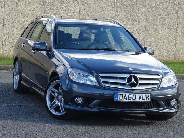 2011 Mercedes-Benz C-Class 2.1TD C220 CDI Sport 2.1CDI Blue F Estate 5d 2145cc auto (60 reg)
