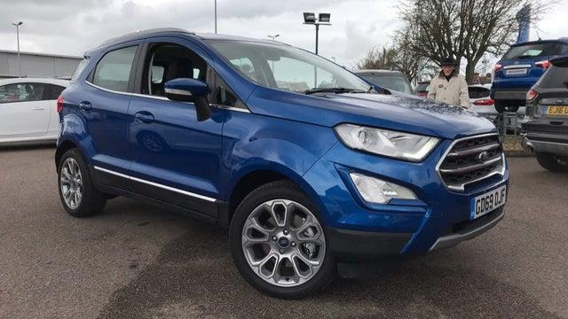 2020 Ford EcoSport 1.0T Titanium (69 reg)